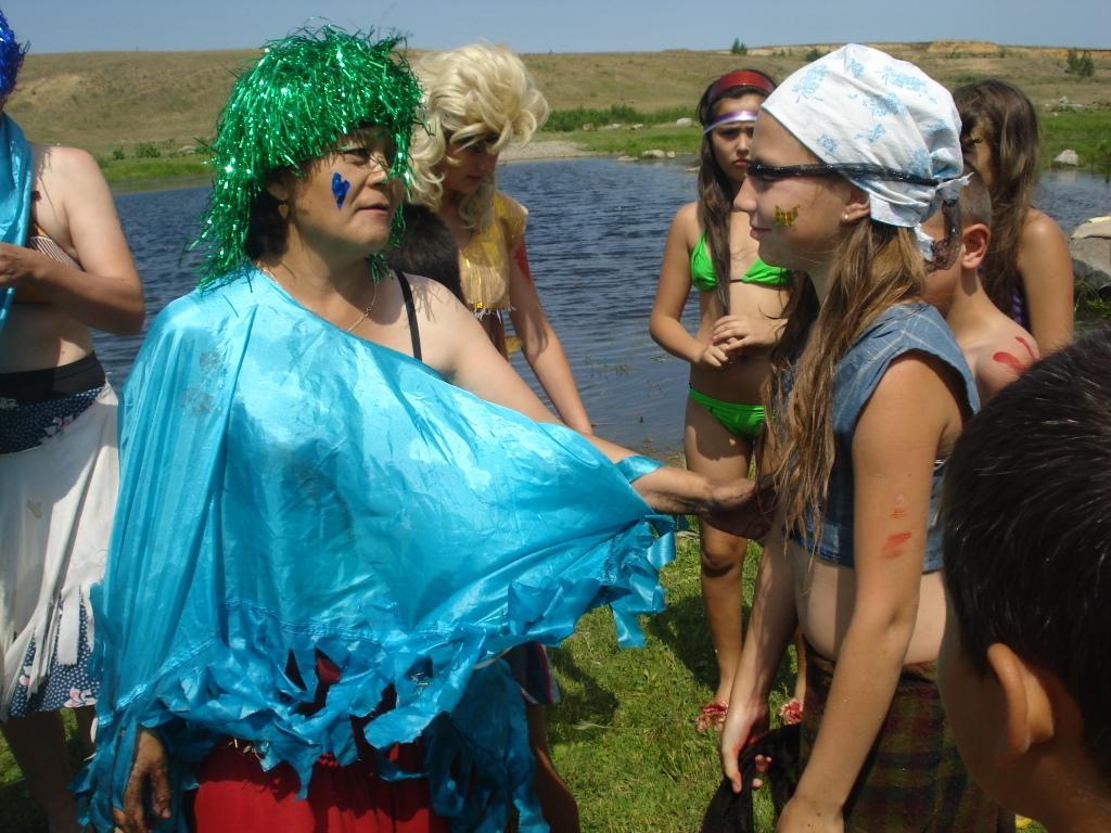 Нептун сценарий праздника